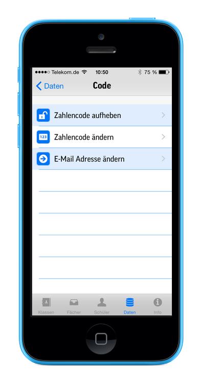 Screenshots Iphone Notenbuch Lehrerkartei